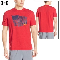 Under Armour Freedom Proud American T-Shirt (L)- Red found on Bargain Bro India from Field Supply for $17.76