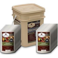 Wise Company 60-Serving Meat Bucket Grab n' Go Food Kit