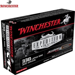 Winchester Expedition Big Game 338 Lapua Mag 300 gr. AccuBond CT