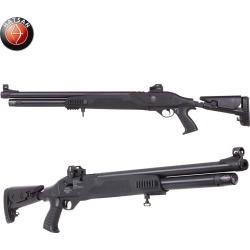 Hatsan Galatian Tact Semi-Auto PCP Air Rifle (.25 cal)- Blk Syn