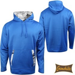 Gamehide Nomad Hoodie (L)- Royal Blue/Naked North Snow Camo