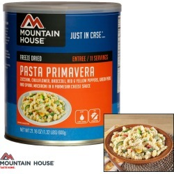Mountain House Pasta Primavera (#10 Can) found on Bargain Bro India from Field Supply for $22.24
