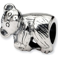 Reflections� Sterling Silver Baby Bear Bead / Charm found on Bargain Bro India from Fine Jewelers for $29.99