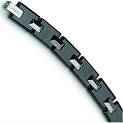 and Black Ceramic Bracelet
