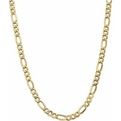 8 Inch 14k 7.3mm Semi-solid Figaro Chain Bracelet found on Bargain Bro India from Fine Jewelers for $359.99