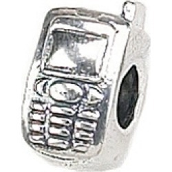 Zable� Sterling Silver Cell Phone Bead / Charm