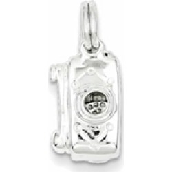 Sterling Silver Polished Movable Camera Charm