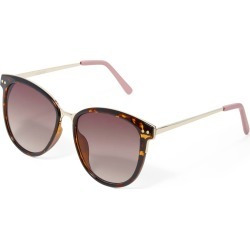 Madison Rounded Sunglasses - Dark Tort - 00 found on Bargain Bro from Forever New Clothing for USD $23.44