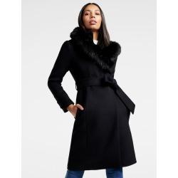 Lola Hooded Coat - Black - 4