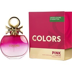 COLORS DE BENETTON PINK by Benetton EDT SPRAY 2.7 OZ for WOMEN found on Bargain Bro Philippines from fragrancenet.com for $22.99