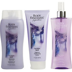 BODY FANTASIES TWILIGHT by Body Fantasies SET-BODY SPRAY 8 OZ & BODY LOTION 7 OZ & BODY WASH 12 OZ for WOMEN