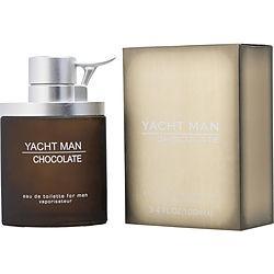 YACHT MAN CHOCOLATE by Myrurgia EDT SPRAY 3.4 OZ for MEN