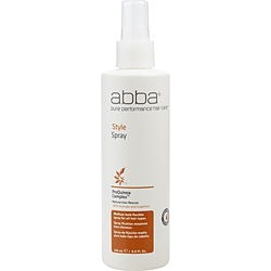 ABBA by ABBA Pure & Natural Hair Care STYLE SPRAY 8 OZ for UNISEX