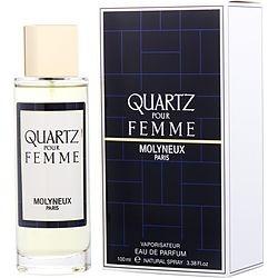 QUARTZ by Molyneux EAU DE PARFUM SPRAY 3.3 OZ for WOMEN