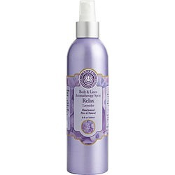 BODY & LINEN RELAX LAVENDER AROMATHERAPY SPRAY 8 OZ for UNISEX