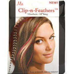 MIA by Mia CLIP-IN-FEATHERS - GINGER for UNISEX found on Bargain Bro India from fragrancenet.com for $13.99