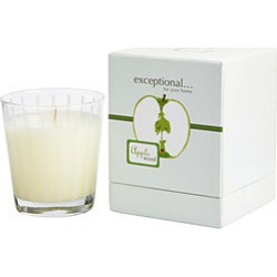 APPLE WOOD - LIMITED EDITION by Exceptional Parfums APPLE WOOD SCENTED 8.8 OZ TAPERED GLASS JAR CANDLE. for UNISEX found on Bargain Bro India from fragrancenet.com for $19.99