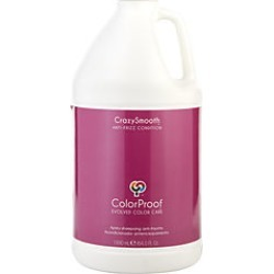 Colorproof by Colorproof CRAZYSMOOTH ANTI-FRIZZ CONDITIONER 64 OZ for UNISEX found on Bargain Bro India from fragrancenet.com for $111.99