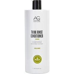 AG HAIR CARE by AG Hair Care THIKK RINSE VOLUMIZING CONDITIONER 33.8 OZ for UNISEX