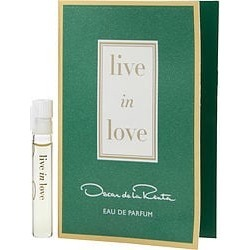 OSCAR DE LA RENTA LIVE IN LOVE by Oscar de la Renta EAU DE PARFUM VIAL for WOMEN