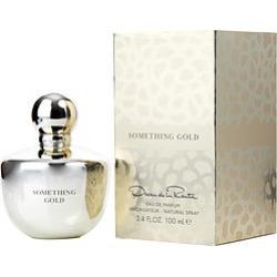 OSCAR DE LA RENTA SOMETHING GOLD by Oscar de la Renta EAU DE PARFUM SPRAY 3.4 OZ for WOMEN