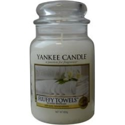YANKEE CANDLE by Yankee Candle FLUFFY TOWELS SCENTED LARGE JAR 22 OZ for UNISEX found on Bargain Bro Philippines from fragrancenet.com for $36.99