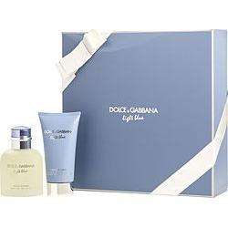 D & G LIGHT BLUE by Dolce & Gabbana SET-EDT SPRAY 2.5 OZ & AFTERSHAVE BALM 2.5 OZ for MEN found on Bargain Bro from fragrancenet.com for USD $47.87