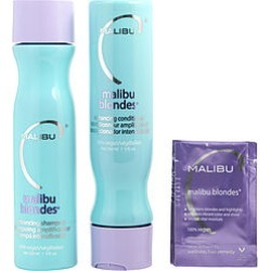 Malibu Hair Care by Malibu Hair Care SET-MALIBU BLONDES ENHANCING KIT WITH SHAMPOO 9 OZ & CONDITIONER 9 OZ - U for UNISEX