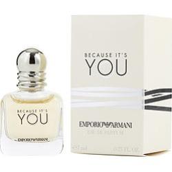EMPORIO ARMANI BECAUSE IT'S YOU by Giorgio Armani EAU DE PARFUM .24 OZ MINI for WOMEN found on Bargain Bro India from fragrancenet.com for $14.99