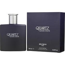 QUARTZ ADDICTION by Molyneux EAU DE PARFUM SPRAY 3.3 OZ for MEN