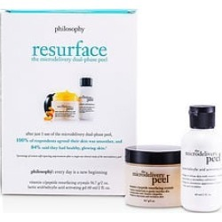 Philosophy by Philosophy Microdelivery Peel Kit: Lactic/Salicylic Acid Activating Gel 2oz & Vitamin C/Peptide Resurfacing Crystals 2oz-2pcs for WOMEN