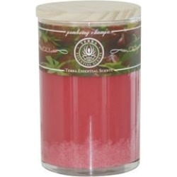 POMBERRY CHAMPA by Terra Essential Scents SOY ESSENTIAL CANDLE 12 OZ TUMBLER. A REFRESHING & SOOTHING BLEND WITH RHODOSCHROSITE GEMSTONE. BURNS APPROX. 30+ HOURS for UNISEX found on Bargain Bro Philippines from fragrancenet.com for $23.99