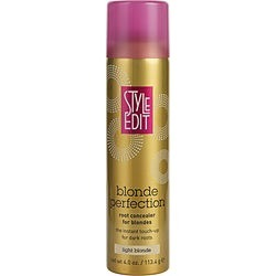 STYLE EDIT by Style Edit BLONDE PERFECTION ROOT TOUCH UP POWDER FOR BLONDES- LIGHT BLONDE 4 OZ for UNISEX