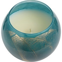 TURQUOISE CANDLE GLOBE by Turquoise Candle Globe THE INSIDE OF THIS 4 in POLISHED GLOBE IS PAINTED WITH WAX TO CREATE SWIRLS OF GOLD AND RICH HUES AND COMES IN A SATIN COVERED GIFT BOX. CANDLE IS FILLED WITH A TRANSLUCENT WAX AND SCENTED WITH MYSTERIA. BURNS APPROX. 50 HRS for UNISEX found on Bargain Bro Philippines from fragrancenet.com for $37.99