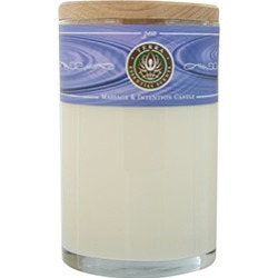 ZEN by Shiseido MASSAGE & INTENTION SOY CANDLE 12 OZ TUMBLER. A MEDITATIVE BLEND OF SANDALWOOD & NAG CHAMPA WITH AN AMETHYST GEMSTONE. BURNS APPROX. 30+ HOURS for UNISEX