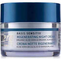 Lavera by Lavera Basis Sensitiv Regenerating Night Cream - Organic Aloe Vera & Organic Almond Oil (For All Skin Types) -/1.6OZ for WOMEN