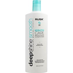 RUSK by Rusk DEEPSHINE SMOOTH KERATIN CARE SMOOTHING CONDITIONER 12 OZ for UNISEX