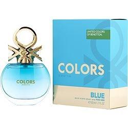 COLORS DE BENETTON BLUE by Benetton EDT SPRAY 1.7 OZ for WOMEN found on Bargain Bro from fragrancenet.com for USD $9.87