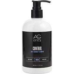 AG HAIR CARE by AG Hair Care CONTROL ANTI-DANDRUFF SHAMPOO 12 OZ for UNISEX