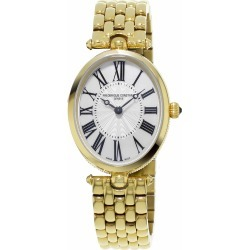 Frederique Constant Classics Art Deco White Oval Dial Ladies Watch found on MODAPINS from Fraser Hart for USD $1246.21