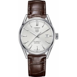 TAG Heuer Carrera Steel & Brown Leather 39mm Men's Watch found on MODAPINS from Fraser Hart for USD $2715.30