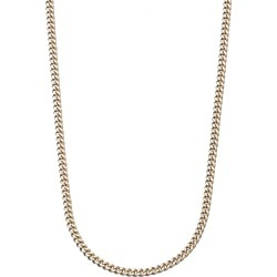 9ct gold fine curb chain - 20 inch (51cm) found on Bargain Bro UK from Fraser Hart