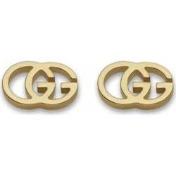 Gucci GG Tissue 18ct gold stud earrings found on Bargain Bro UK from Fraser Hart