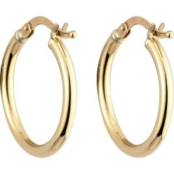 9ct gold small hoop earrings found on Bargain Bro UK from Fraser Hart