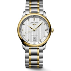 Longines Watchmaking Tradition Master Collection Automatic Silver Dial 18ct Gold/Steel Bracelet Watch found on MODAPINS from Fraser Hart for USD $2976.68