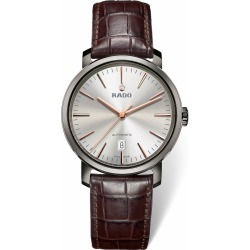 Rado DiaMaster men's automatic ceramic leather strap watch found on MODAPINS from Fraser Hart for USD $1690.83