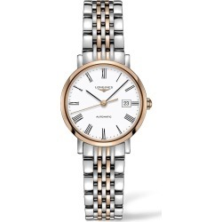 Longines Elegance Automatic White Dial 18ct Rose Gold/Steel Bracelet Ladies' Watch found on MODAPINS from Fraser Hart for USD $2567.56