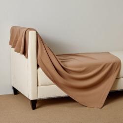 Frette Status Throw - Camel - One Size