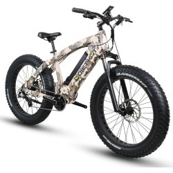 QuietKat 750-ICC Electric Fat-Tire Mountain Bike, Camouflage