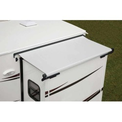 Replacement Fabric for Dometic Deluxe EZ Slidetopper, Polar White, 90
